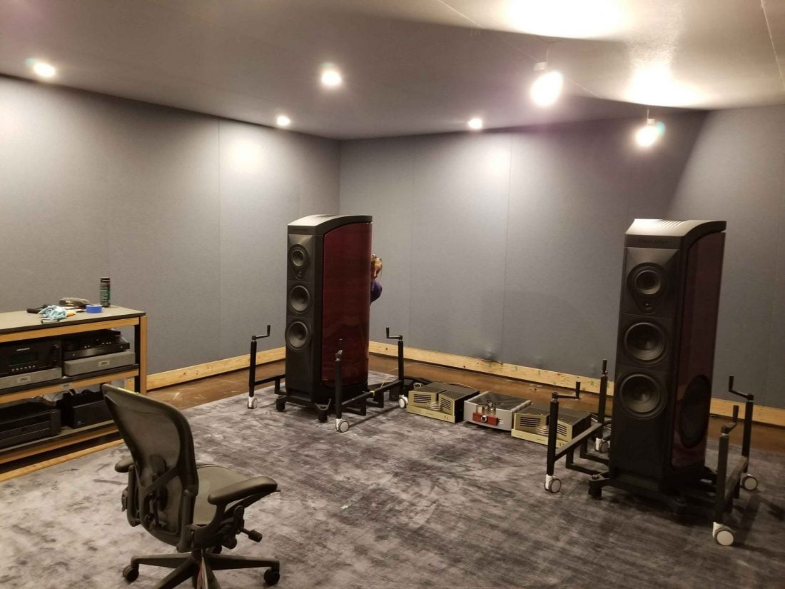 Sonus Faber/FRP two channel, Long Island