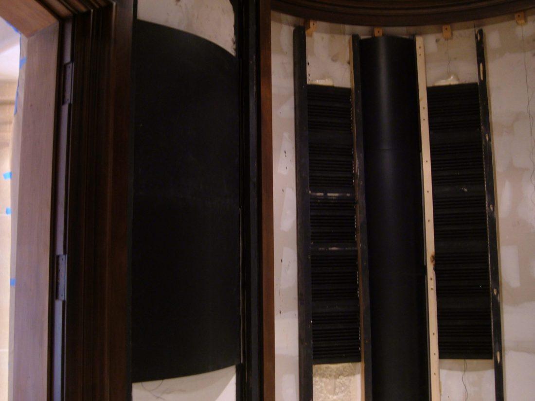 Corner FRP diffuser detail