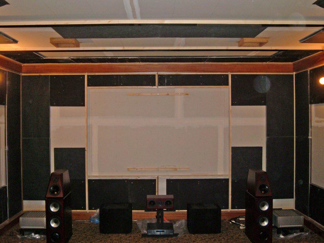 Screen wall FRP panels