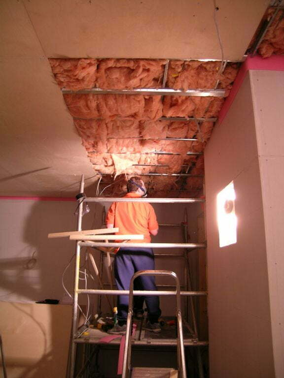 Hanging ceiling