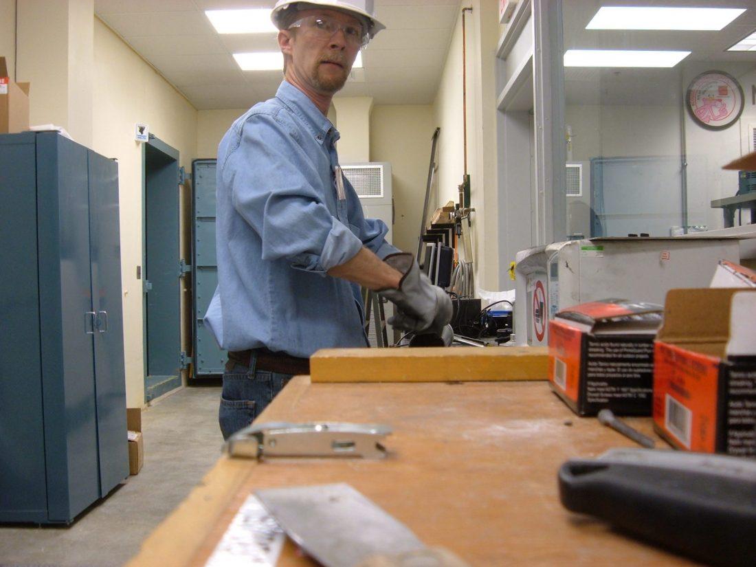 Preparing sealant for wall transmission loss tests