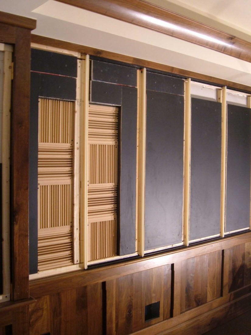 High frequency FRP QRD diffusers and absorber panels