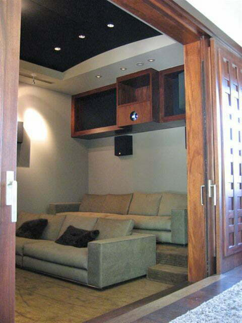FRP theater room
